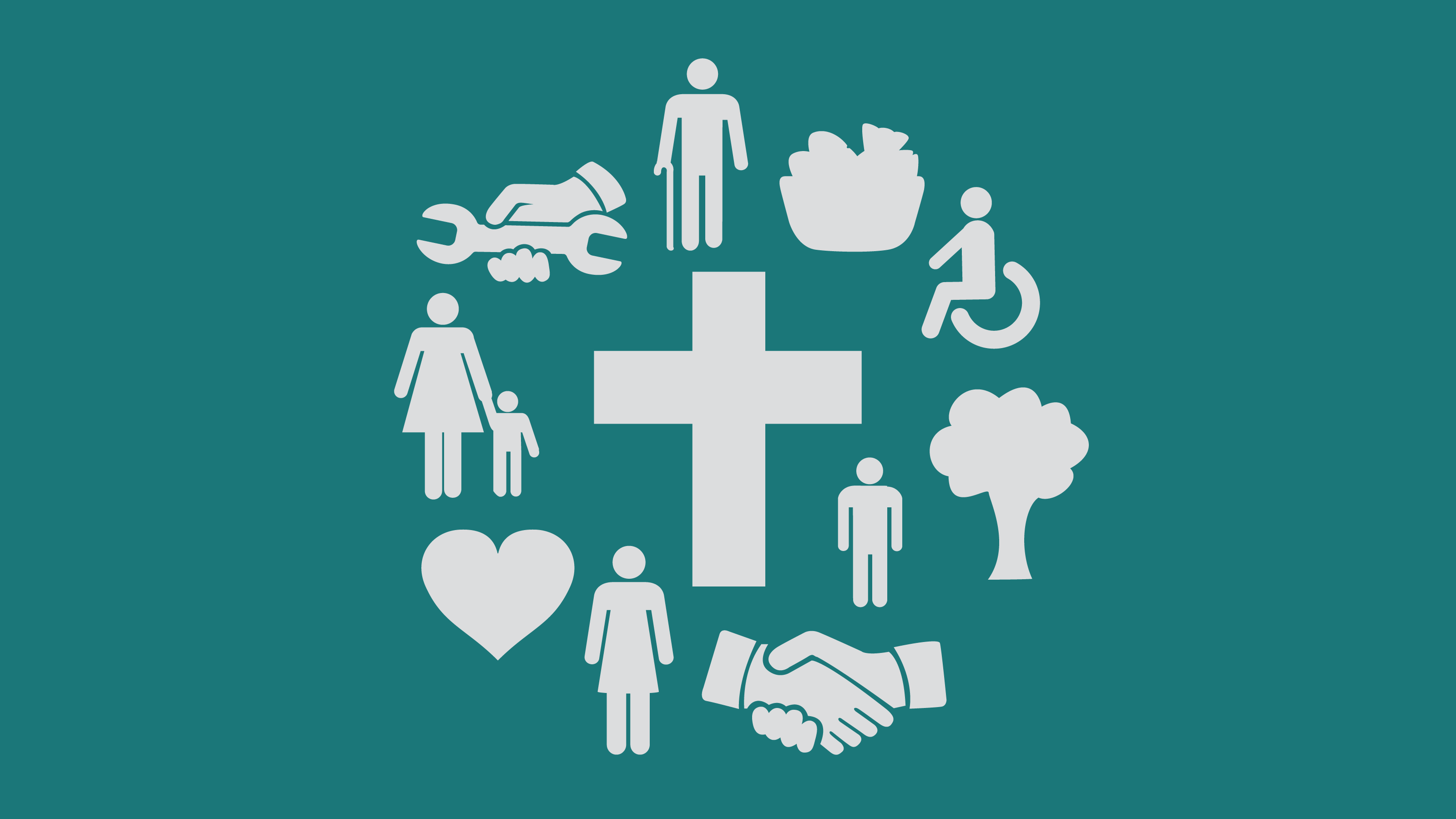 Illustration showing the many ways mission integrates into daily life
